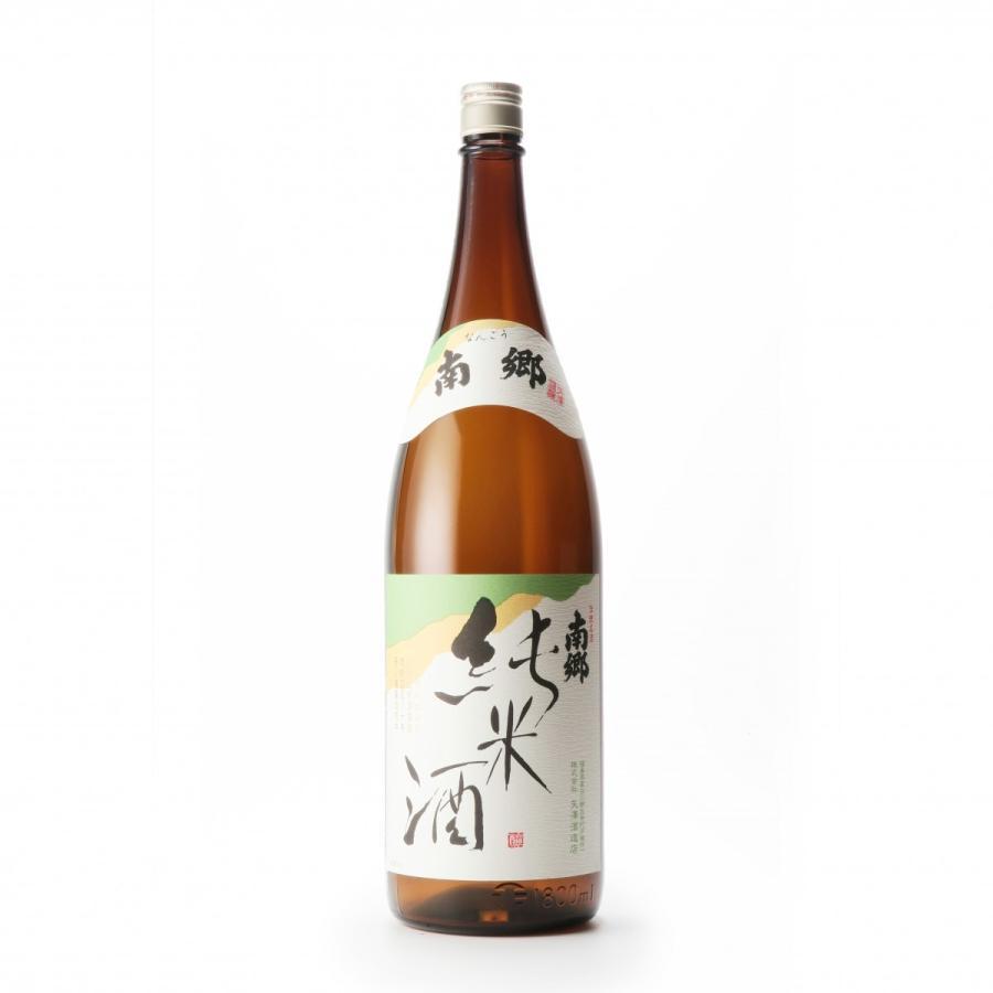 南郷 純米酒(1.8L) yazawashuzo