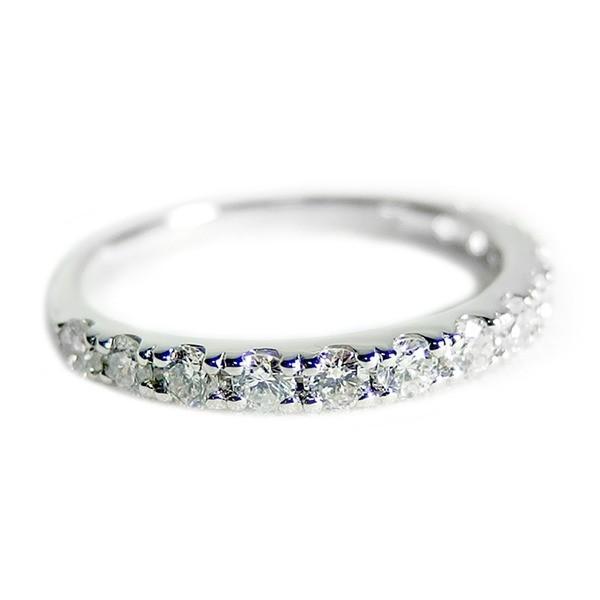 新しいコレクション ダイヤモンド リング ハーフエタニティ 0.5ct 8.5号 プラチナ Pt900 0.5カラット エタニティリング 指輪 鑑別カード付き, MOBBS bac4b7d0