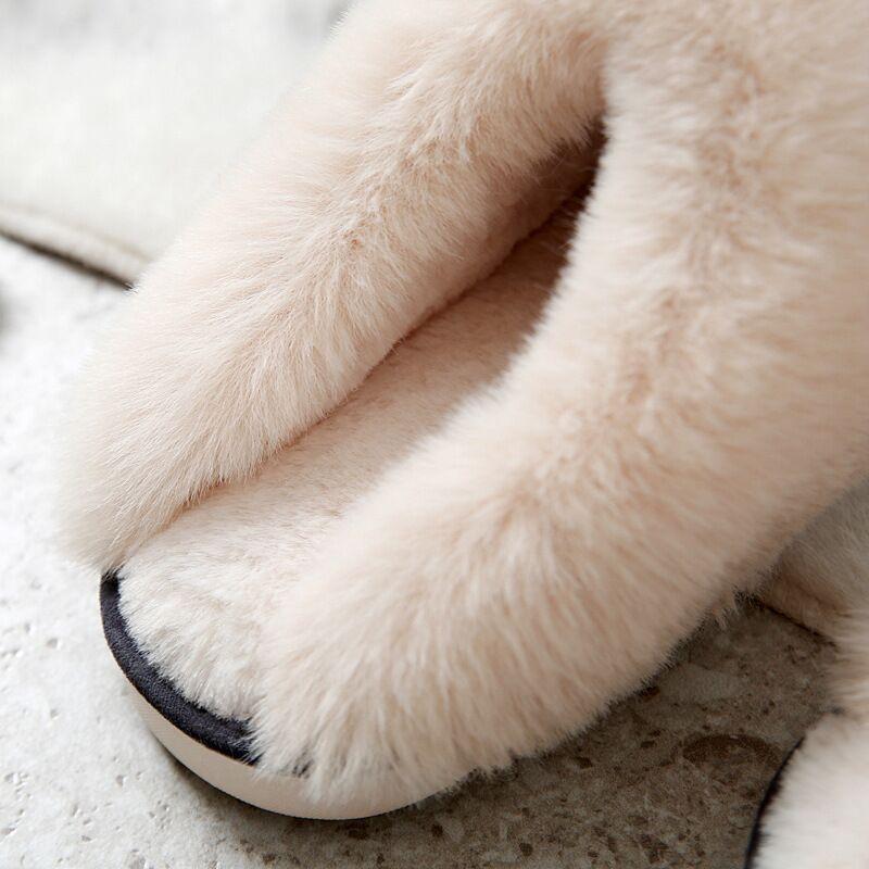 ムートン スリッパ 冬 ムートンスルッパ レディース メンズ あたたか 暖 ムートン ルームシューズ あったか スリッパ おしゃれ 冷え対策 室内 かわいい|yen|11
