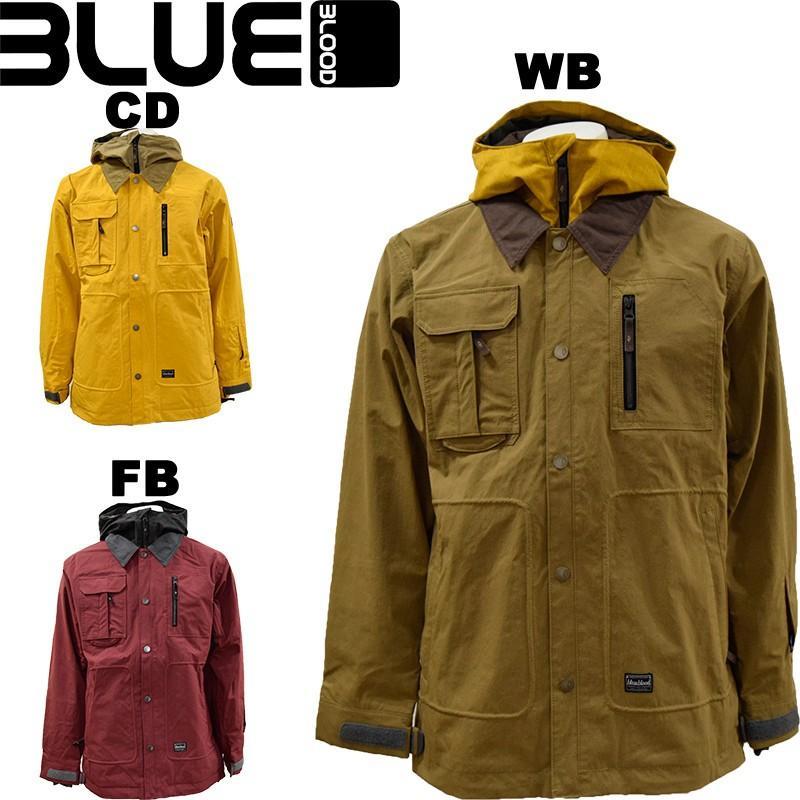 青blood/ブルーブラッドスノーボードジャケット/スノージャケットBL-1011【あすつく対応_北海道】