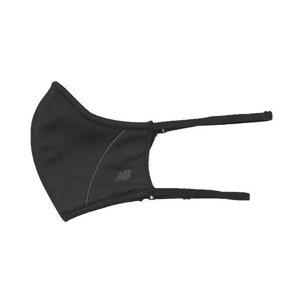 ニューバランス new balance メンズ レディース スポーツ マスク 耳にかけない 3層構造 再帰反射ロゴ 洗える LAO13099|yf-ing|02