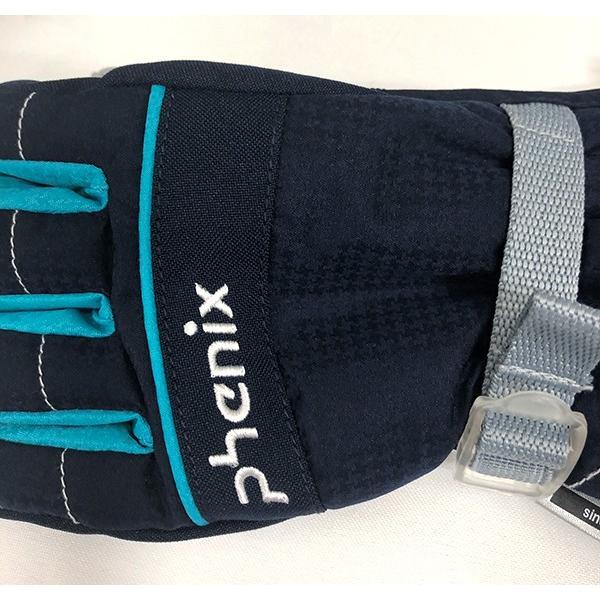 スキーグローブ キッズ フェニックス 雪遊び 手袋 セール ジュニア 防水 シンプル 90 100 110 120 130 ガールズ 女の子 phenix PS8H8GL75 レターパックも対応|yf-ing|05