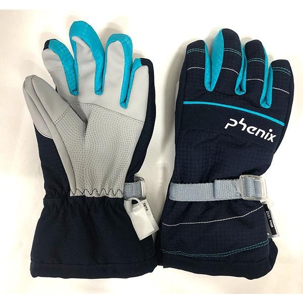 スキーグローブ キッズ フェニックス 雪遊び 手袋 セール ジュニア 防水 シンプル 90 100 110 120 130 ガールズ 女の子 phenix PS8H8GL75 レターパックも対応|yf-ing|06