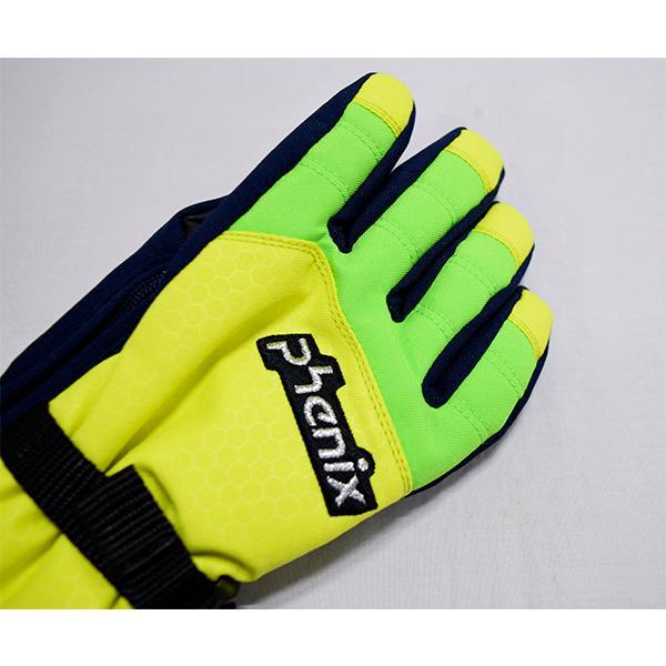 フェニックス phenix キッズ グローブ 雪遊び スキー手袋 アウトレット 在庫一掃 PS9G8GL71 レターパックも対応|yf-ing|05