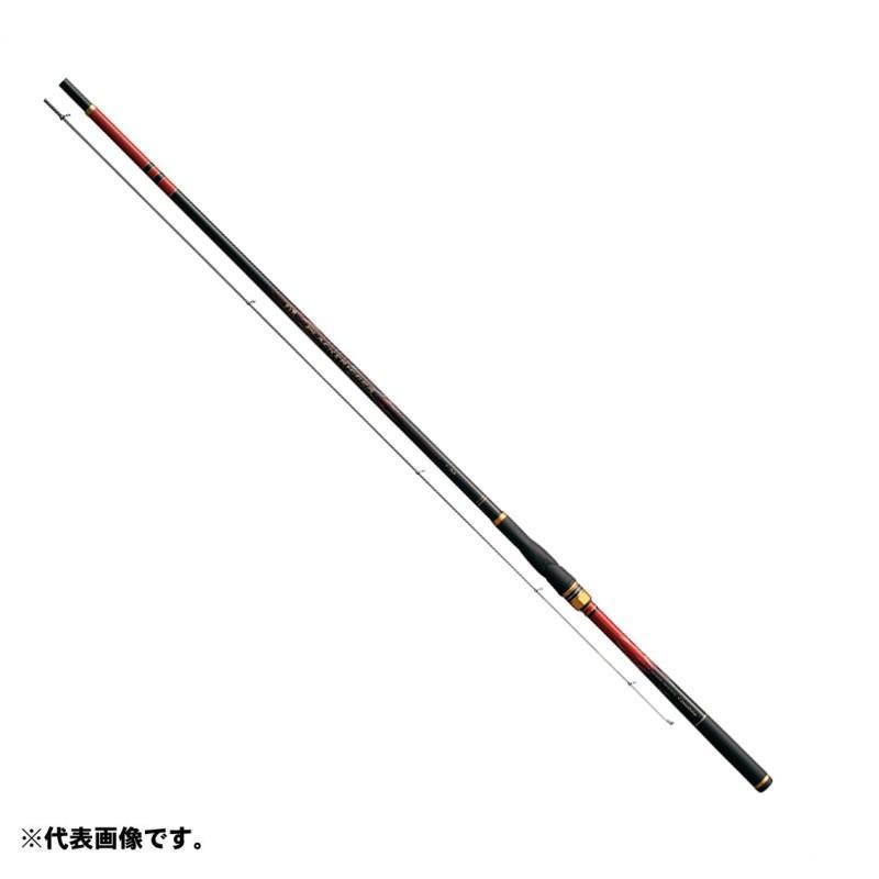 がまかつ がま磯 ブラックトリガー 1号-5.3m / 磯竿 上物 チヌ竿