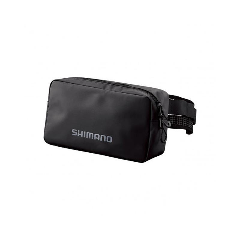 予約 シマノ BW-013U 正規品 ドレインヒップバック ブラック