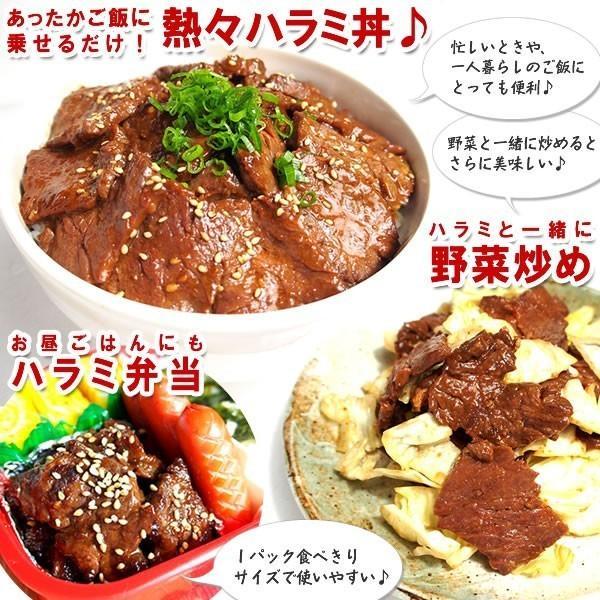焼肉セット 焼き肉 焼肉用 肉 やわらか ハラミ 味噌だれ漬け メガ盛りセット 1kg 送料無料 バーベキューセット BBQ 食品 牛肉 お肉 yhjonetsu 09