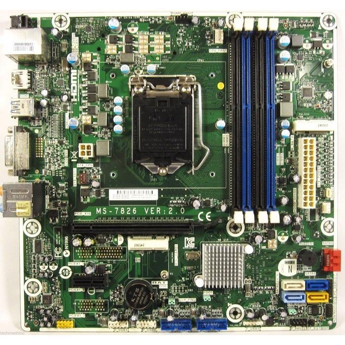 中古美品 MS-7826 VER:2.0 マザーボード784740-001 数量限定アウトレット最安価格 784740-501 Z97 オリジナル