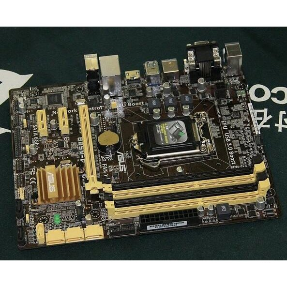 中古美品 Asus B85M-Gマザーボード Intel B85 ATX 人気 おすすめ LGA Micro 卓越 1150