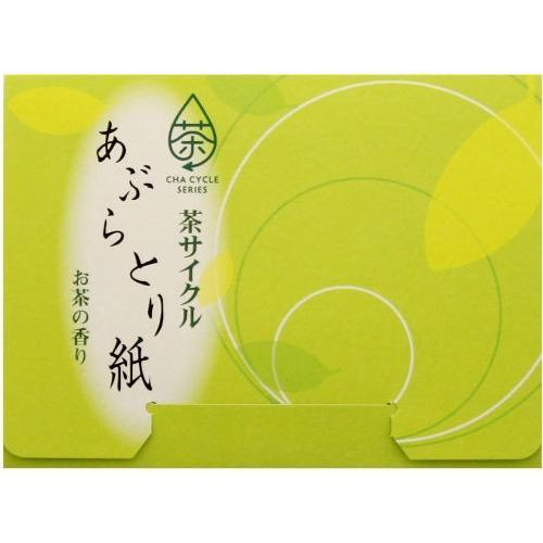 茶サイクル あぶらとり紙30枚ポリ入 2000入 まとめ買い 粗品 ばらまき 販促 ノベルティ
