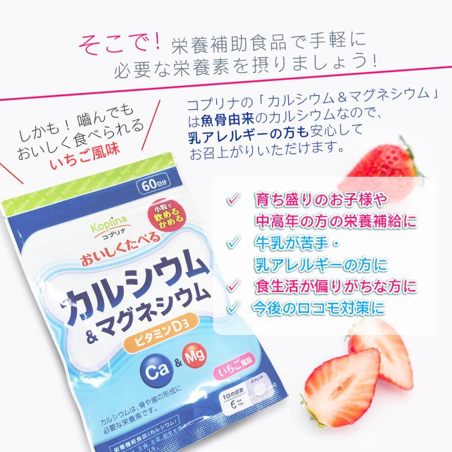 カルシウム マグネシウム カルシウム&マグネシウム 360粒 60日分 子供 身長 ビタミンD 送料無料 ビタミン サプリメント コプリナ|ykoplina|06