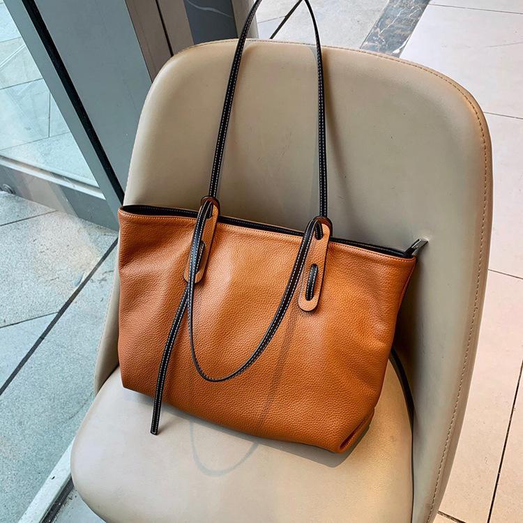ハンドバッグ ショルダー 2色 ビジネスレザーバッグ 女性 レザーカバン 革鞄 送料無料 婦人 ギフト 母の日プレゼント財布 レディース|yl6031store