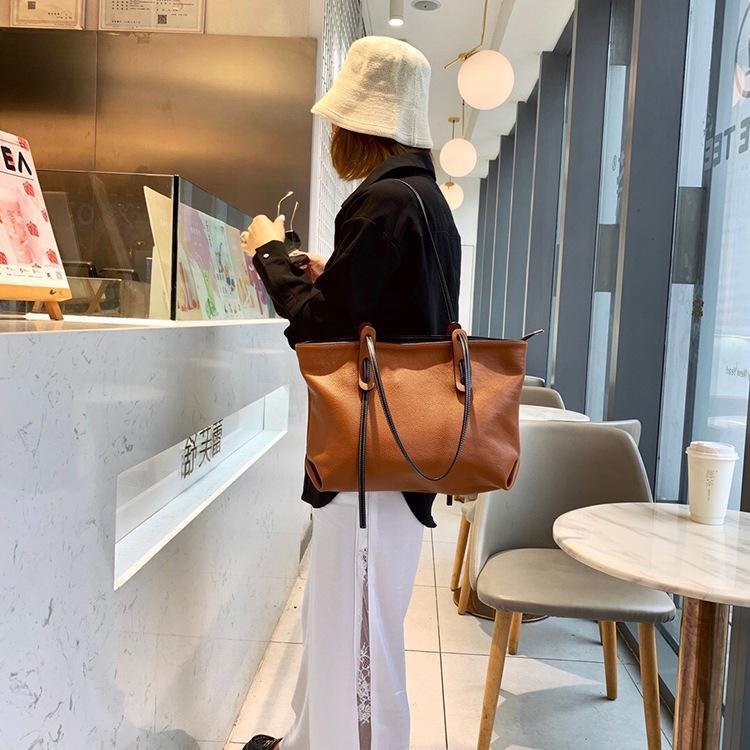 ハンドバッグ ショルダー 2色 ビジネスレザーバッグ 女性 レザーカバン 革鞄 送料無料 婦人 ギフト 母の日プレゼント財布 レディース|yl6031store|02