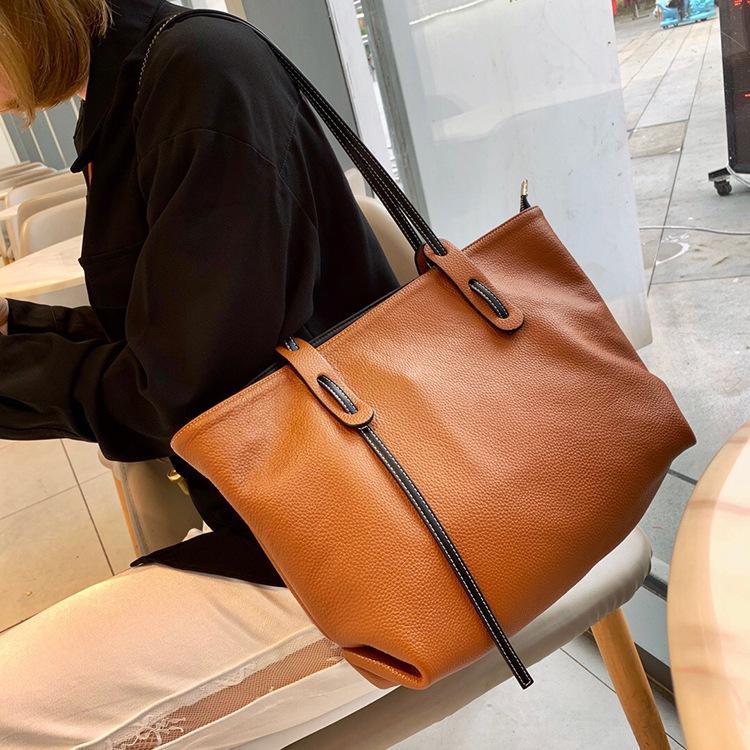 ハンドバッグ ショルダー 2色 ビジネスレザーバッグ 女性 レザーカバン 革鞄 送料無料 婦人 ギフト 母の日プレゼント財布 レディース|yl6031store|05