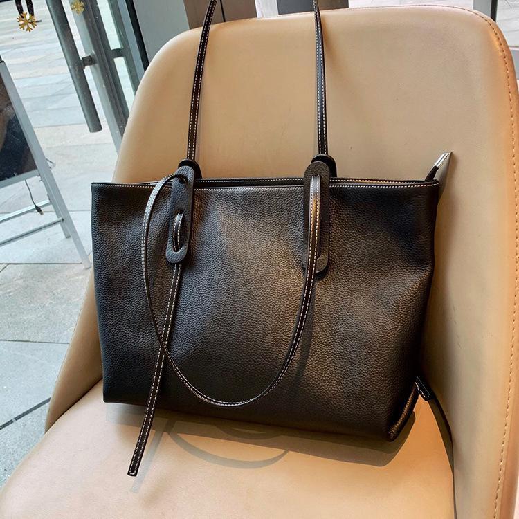 ハンドバッグ ショルダー 2色 ビジネスレザーバッグ 女性 レザーカバン 革鞄 送料無料 婦人 ギフト 母の日プレゼント財布 レディース|yl6031store|06