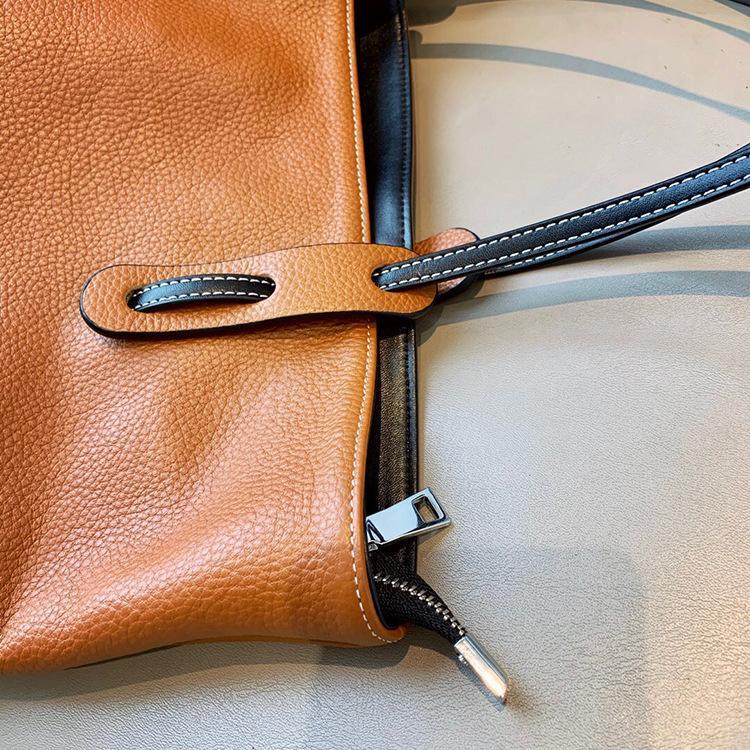 ハンドバッグ ショルダー 2色 ビジネスレザーバッグ 女性 レザーカバン 革鞄 送料無料 婦人 ギフト 母の日プレゼント財布 レディース|yl6031store|08