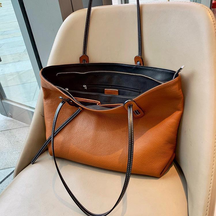 ハンドバッグ ショルダー 2色 ビジネスレザーバッグ 女性 レザーカバン 革鞄 送料無料 婦人 ギフト 母の日プレゼント財布 レディース|yl6031store|09
