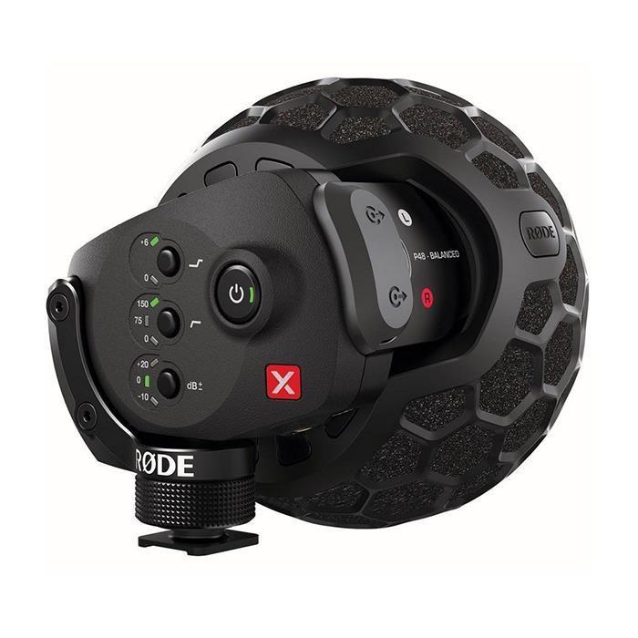 《新品アクセサリー》 RODE(ロード) Stereo VideoMic X(XLR端子ファンタム給電/9V乾電池兼用)