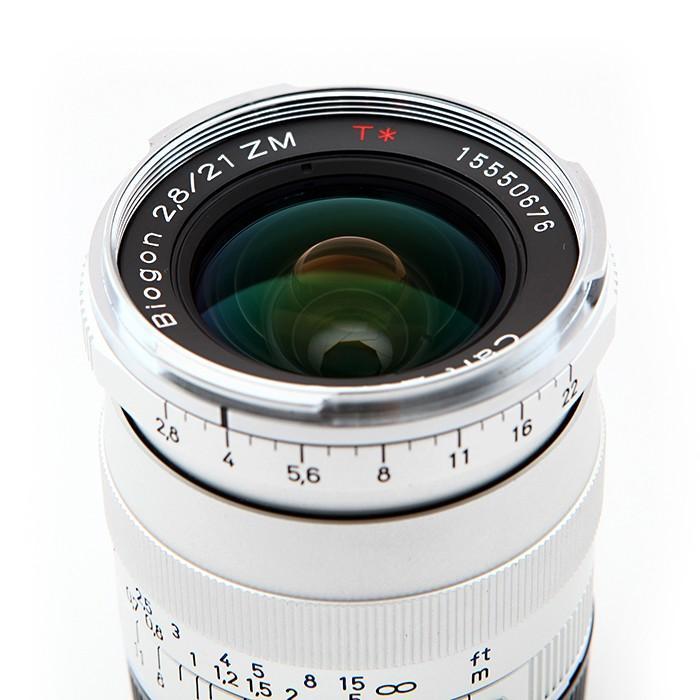 《新品》 Carl Zeiss(カールツァイス) Biogon T* 21mm F2.8 ZM(ライカM用) シルバー|ymapcamera|03
