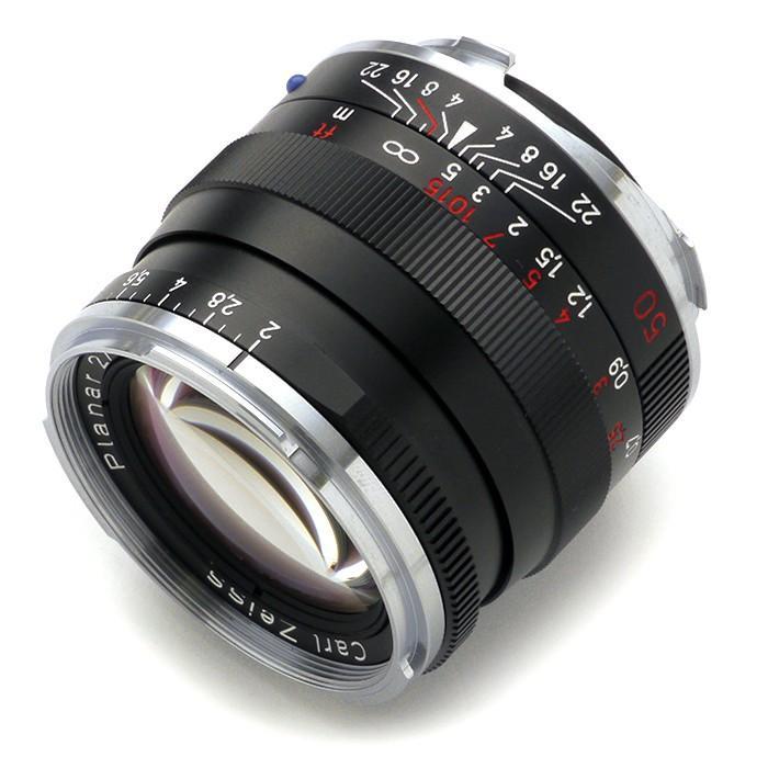 《新品》 Carl Zeiss(カールツァイス) Planar T* 50mm F2 ZM(ライカM用) ブラック〔納期未定・予約商品〕 ymapcamera 02