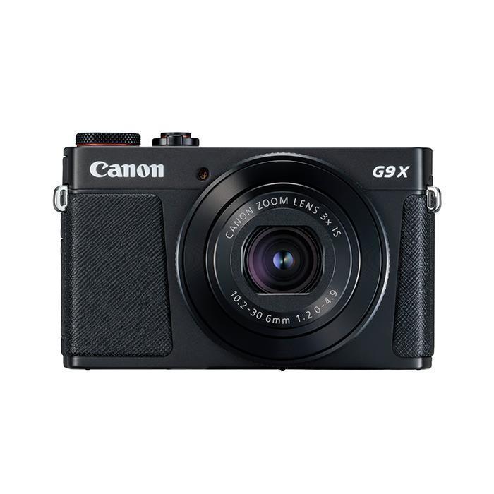 《新品》 Canon (キヤノン) PowerShot G9X Mark II ブラック【¥5,000-キャッシュバック対象】