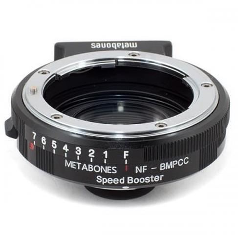 開店記念セール! 《新品アクセサリー》 METABONES マウントアダプター ニコンF(G)レンズ/Blackmagic Pocket Cinema Cinema Camera用 Camera用 SPEED SPEED BOOSTER, 吉見町:13b0c2ec --- viewmap.org