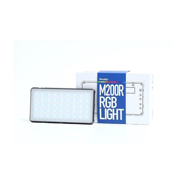 《新品アクセサリー》 Phottix (フォティックス) RGB LIGHT M200R ymapcamera 02