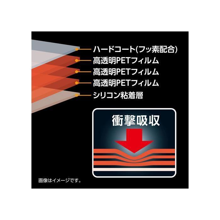 《新品アクセサリー》 HAKUBA (ハクバ) 液晶保護フィルム 耐衝撃タイプ Canon EOS RP 専用|ymapcamera|02
