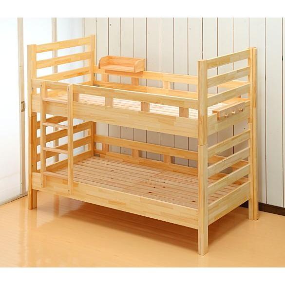 『日本製』ヤマサキ 2段ベッド(二段ベッド) 子供 頑丈 丈夫 国産 シングル 木製 『日本製』ヤマサキ 2段ベッド(二段ベッド) 子供 頑丈 丈夫 国産 シングル 木製