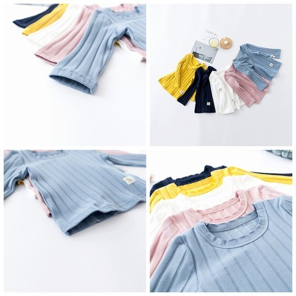 Tシャツ ベビー 長袖 赤ちゃん トップス キッズ 子供服 韓国子供服 無地 ymyo-shop 08