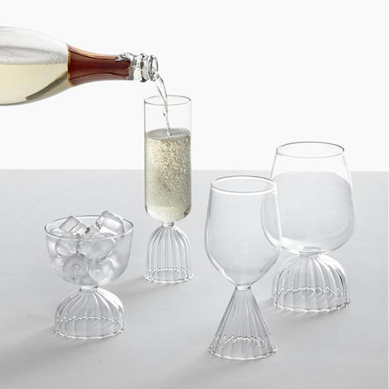 ICHENDORF MILANO TUTU Red Wine Glass 赤ワイングラス チュチュ 耐熱ガラス yo-ko 03