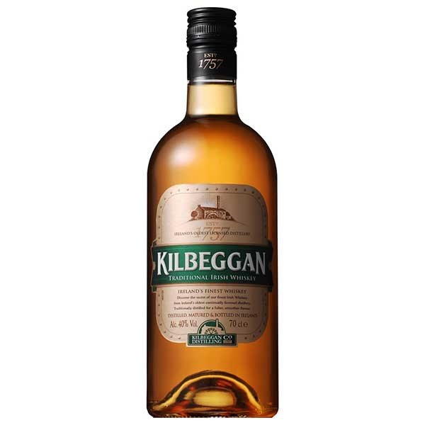 キルベガン 40度 [瓶] 700ml 送料無料※(本州のみ)[ウイスキー/アイルランド/サントリー]