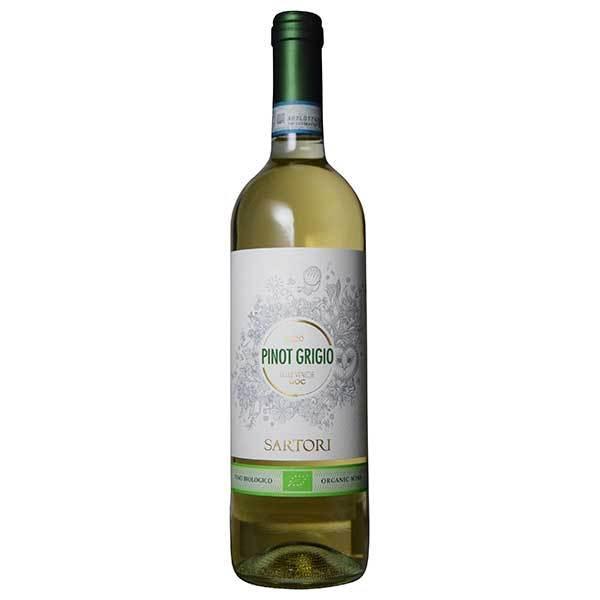ワイン カーサ ヴィニコラ サルトーリ ピノ グリージョ オーガニック 750ml イタリア ヴェネト 白ワイン 646787 MT yo-sake