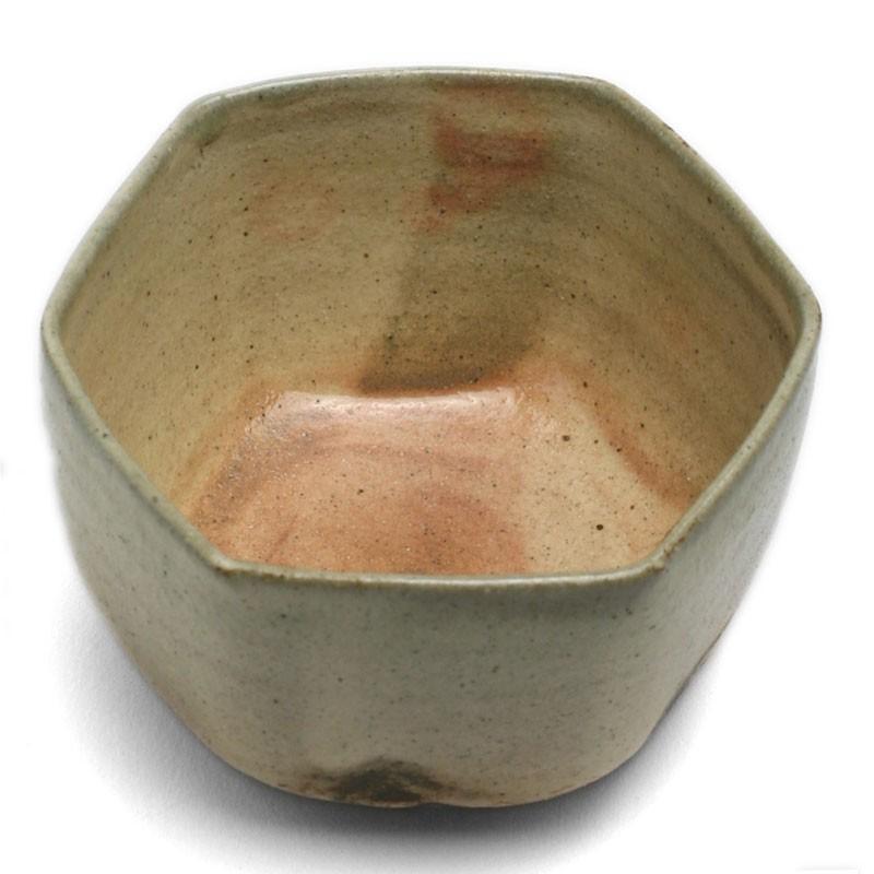 伊賀焼:六角向付・土楽《小鉢・10.5cm》|yobi