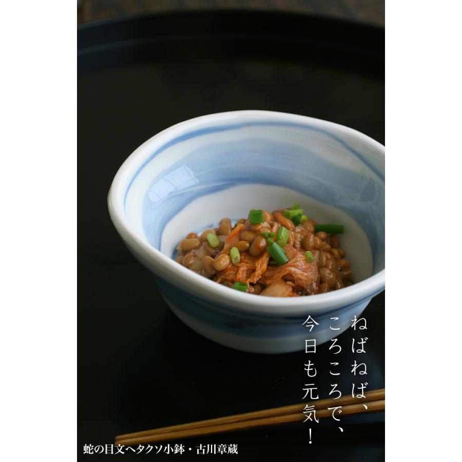 蛇の目文ヘタクソ小鉢・古川章蔵《小鉢・12.0cm》|yobi|09