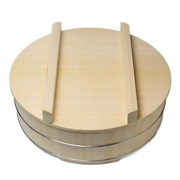 尺1寸ハンポ蓋付・中川清司《寿司桶》|yobi