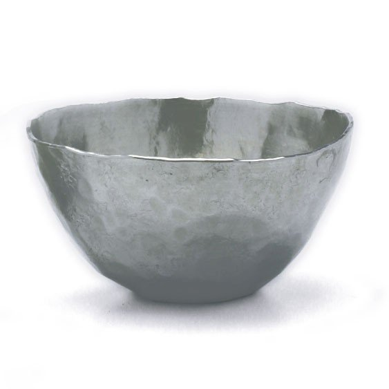 錫器・錫丸盃・ゆり工房《盃》 yobi