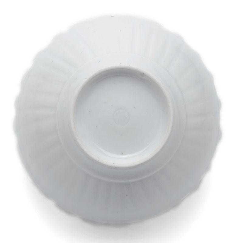 白磁:波渕線刻文小鉢・幾田晴子《小鉢・11.3cm》|yobi|03