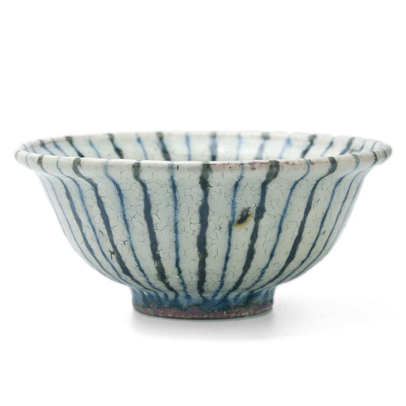 煮物鉢・紫縞・ 杉本太郎《中鉢・15.5cm》|yobi|02