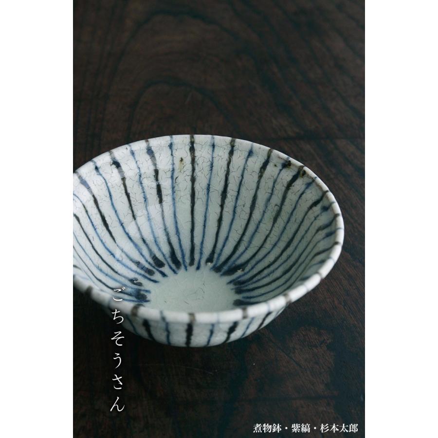 煮物鉢・紫縞・ 杉本太郎《中鉢・15.5cm》|yobi|04