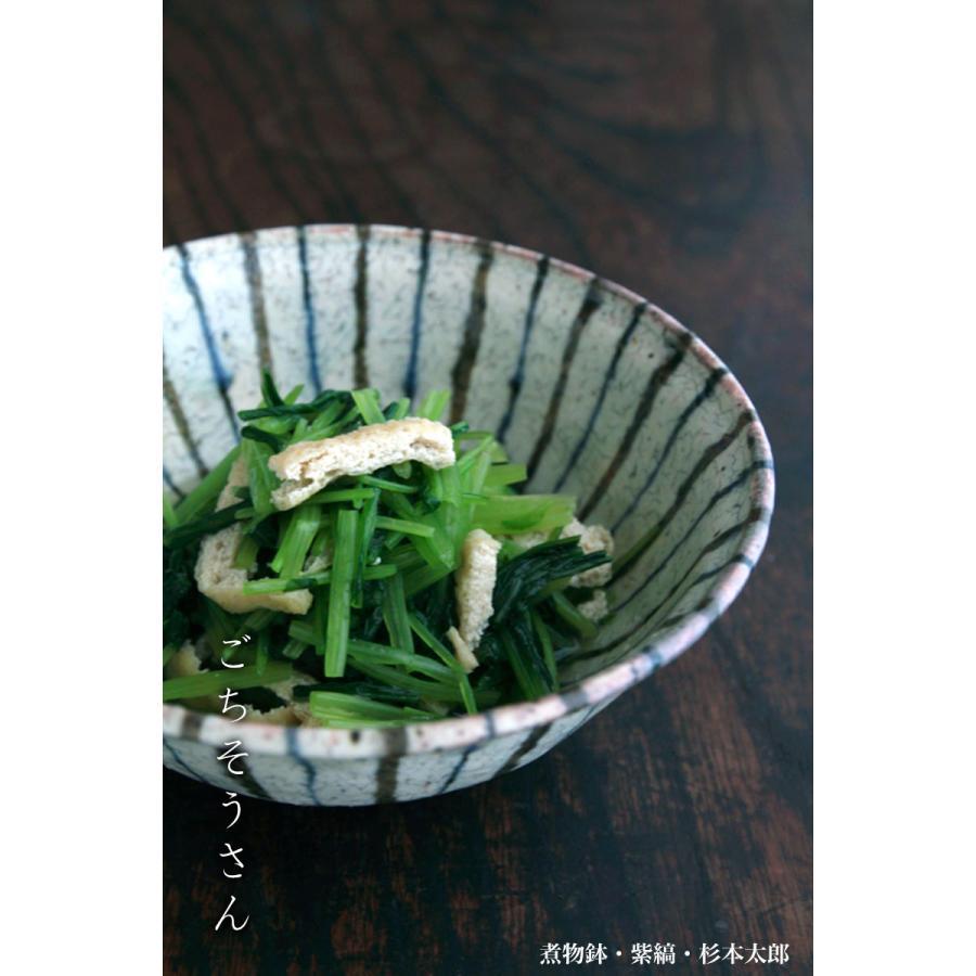 煮物鉢・紫縞・ 杉本太郎《中鉢・15.5cm》|yobi|05