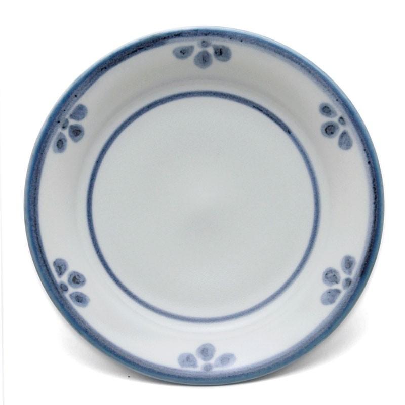 染付:白磁小鼓皿・大・土山敬司《小皿・取り皿・銘々皿・15.3cm》|yobi