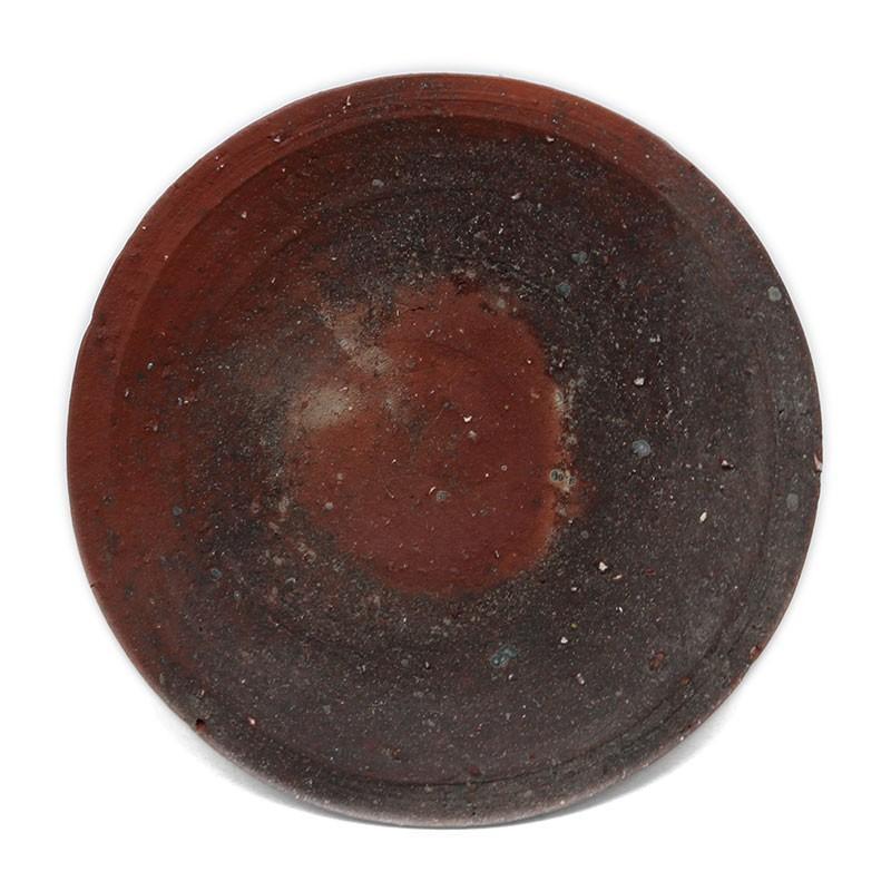 焼き締め:焼〆丸皿・14cm・辻村塊《小皿・14cm》|yobi