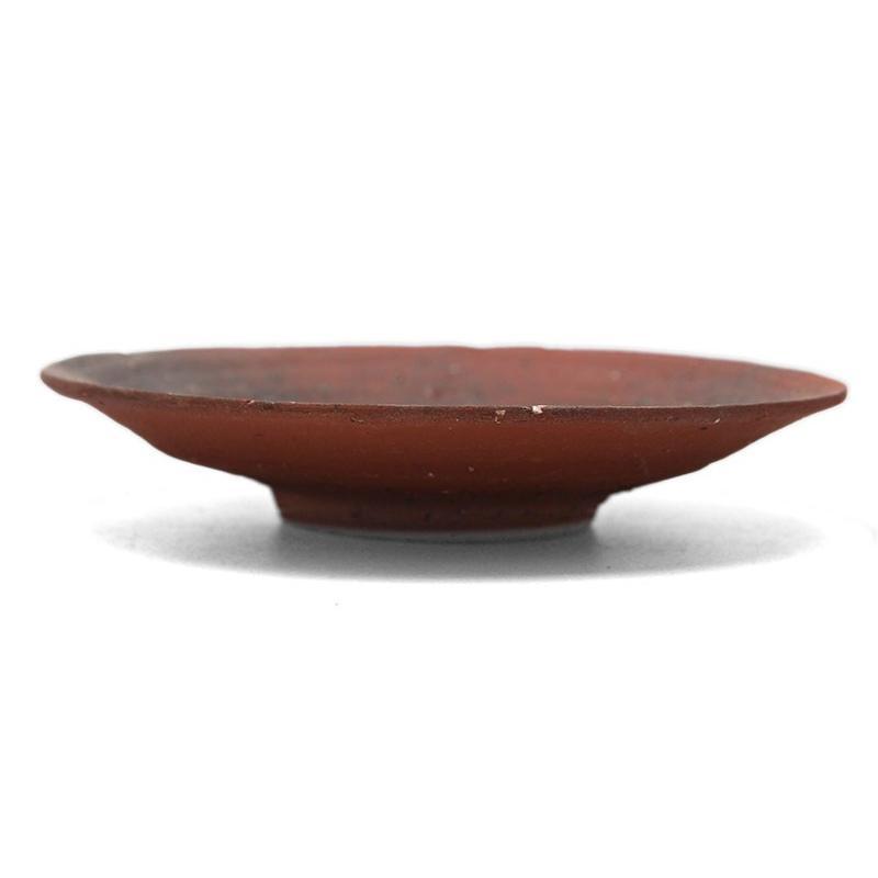 焼き締め:焼〆丸皿・14cm・辻村塊《小皿・14cm》|yobi|04