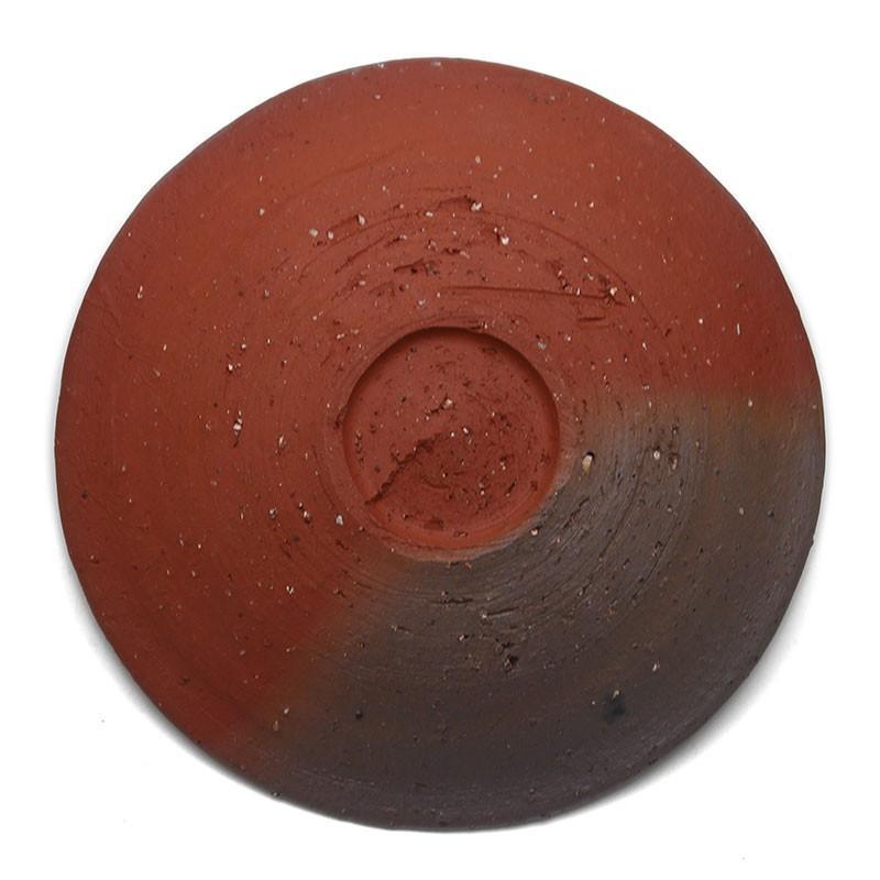 焼き締め:焼〆丸皿・17cm・辻村塊《中皿・17cm》 yobi 04