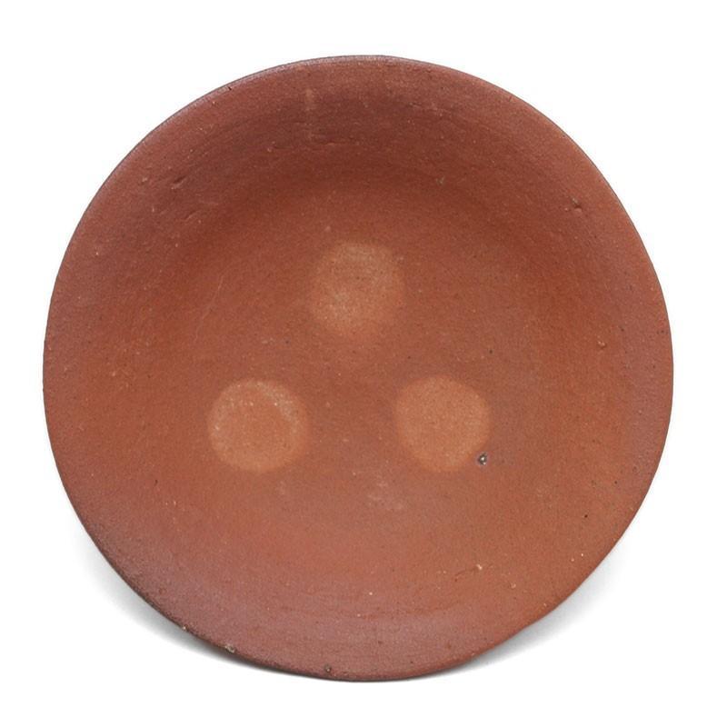 雅造焼〆目つき4寸皿・土楽・福森雅武《小皿・14.0cm》 yobi