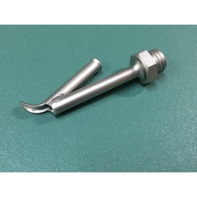 ライスター純正品 フッ素樹脂用 V型スピードノズル M14mmネジ込式 溶接棒φ4mm用 品番126.552 送料無料 熱風機 溶接機