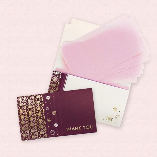 メッセージカード付あぶらとり紙 麻葉 yohira 02