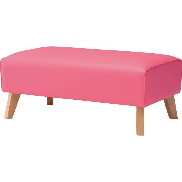 休憩用ベンチ ビエナ背なし ASB-102 W900×D550×H380mm 椅子 いす イス キッズルーム キッズスペース キッズコーナー