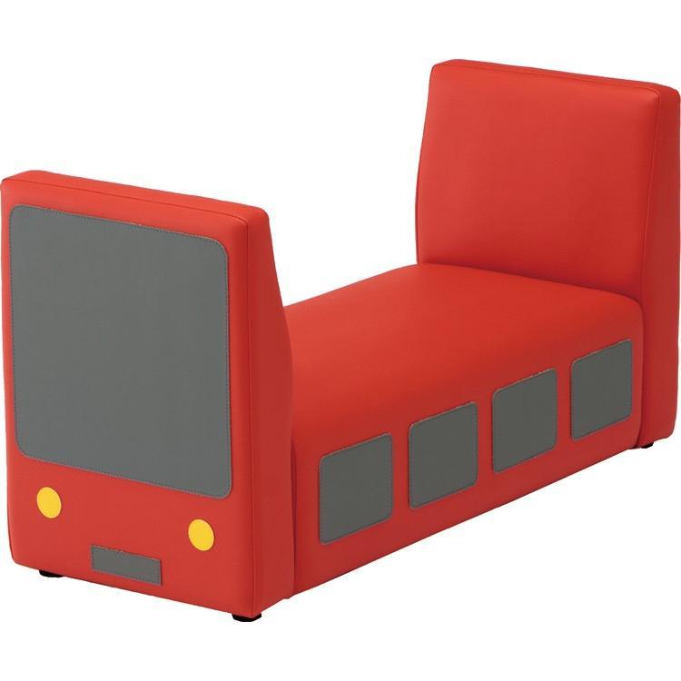 トレインベンチ W900×D360×H470×SH220mm 椅子 いす イス キッズルーム キッズスペース キッズコーナー